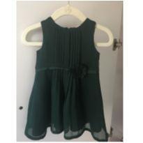 Vestido verde - 6 meses - Carter`s