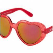 Óculos de sol coração vermelho -  - Carter`s