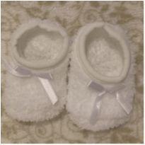 meia de lã para bebê - 0 a 3 meses - Não informada