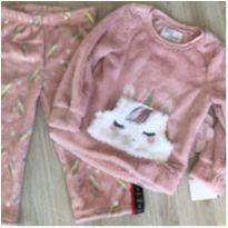 Pijama unicórnio - 4 anos - Importada