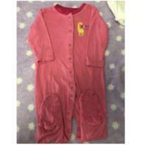 Macacão estilo pijama - 3 a 6 meses - Importada