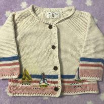 Casaco de lã - 3 a 6 meses - Importada