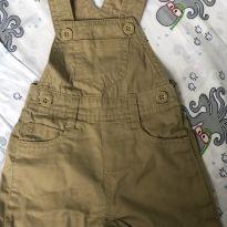 Jardineira - 0 a 3 meses - Teddy Boom