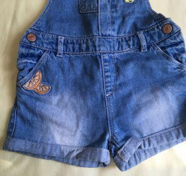 Jardineira jeans Zara - 18 a 24 meses - Zara