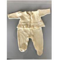 Saída de maternidade (macacão + casaquinho) - 0 a 3 meses - Silmara