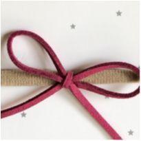 003 Lacinho em Courinho Rosa Velho Escuro -  - Handmade