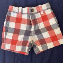 Shorts sarja Tommy - 3 a 6 meses - Tommy Hilfiger