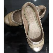 Sapatilha Bibi dourada com detalhe em glitter número 30 - 30 - Bibi