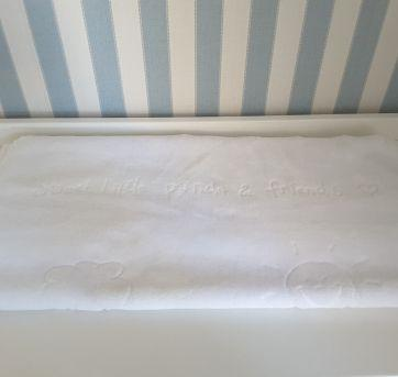 Cobertor Branco - Sem faixa etaria - Colibri
