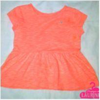 Batinha laranja flúor Carter`s - 2 anos - Carter`s
