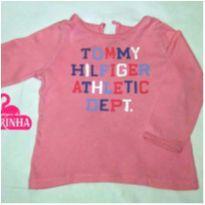 Camiseta manga longa Tommy Hilfiger - 18 meses - Tommy Hilfiger