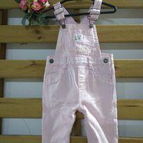 Macacão jeans rosa Carter`s - 6 meses - Carter`s