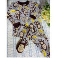 Macacão plush macaco Carter`s - 18 meses - Carter`s