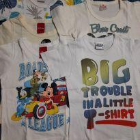 Turminha de camisetas - 1 ano - Disney
