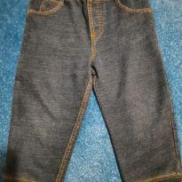 calça imita jeans - 12 a 18 meses - Carter`s