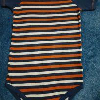 Body manga curta - 9 a 12 meses - Puket