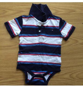 Body Tommy Hilfiger - 6 a 9 meses - Tommy Hilfiger