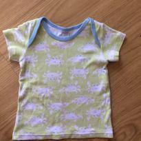 Camiseta caranguejo - 9 a 12 meses - Nini e Bambini