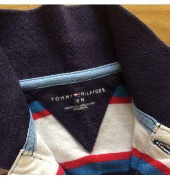 Body Tommy Hilfiger - 6 a 9 meses - Tommy Hilfiger