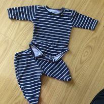 Conjunto de body e calça - Recém Nascido - Up Baby