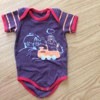 Body - 3 a 6 meses - Bicho Molhado