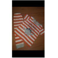 Conjunto Pijama dino Carter`s - 6 a 9 meses - Carter`s