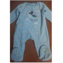 Macacão de Plush do Mickey - 3 a 6 meses - Disney baby