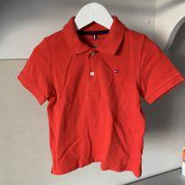 Camisa Polo vermelha - 3 anos - Tommy Hilfiger