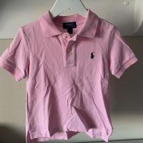 Camisa polo rosa maravilhosa - 3 anos - Polo Ralph Lauren
