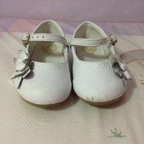 Sapatinho branco - 20 - Pampili