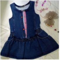 Vestido em cotton - 18 a 24 meses - Chicco