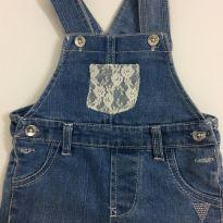 Jardineira Guess Jeans - 9 a 12 meses - Guess