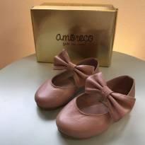 Sapatinho rosa antigo Amoreco - 22 - Amoreco