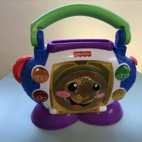 CD Player Aprender e Brincar Fisher Price - Sem faixa etaria - Fisher Price