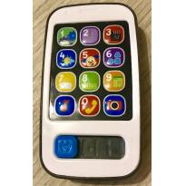 Celular Smart Phone Aprender e Brincar Fisher Price - Sem faixa etaria - Fisher Price
