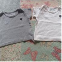 Duplinha camisetas - 3 meses - Luc.boo