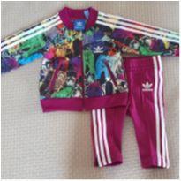 Conjunto inverno Adidas - 3 a 6 meses - Adidas