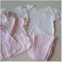 Conjunto inverno P - 0 a 3 meses - Anjos baby