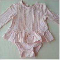Bata body manga longa Gap - 9 a 12 meses - Baby Gap