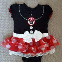 Body Minnie - Recém Nascido - Disney