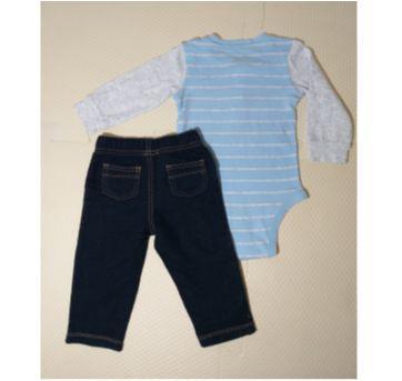 Conjunto Calça  e Body Carters - 9 meses - Carter`s