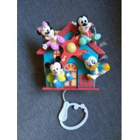 Casinha musical Mickey - Sem faixa etaria - Não informada