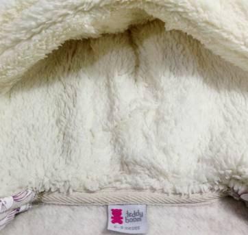 Jaqueta de Inverno tam 6 a 9 meses Teddy Boomquentinha! - 6 a 9 meses - Teddy Boom