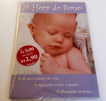 NOVO - Livro A Hora do Sono! - Sem faixa etaria - livro para educar
