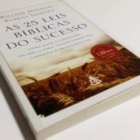 NOVO - As 25 Leis Bíblicas do Sucesso - William Douglas & Rubens Teixeira -  - livro para educar