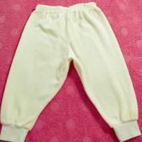 Calça Veludo Macio Menina tam M (3 a 6 meses)super nova! - 3 a 6 meses - Confecções Infantis