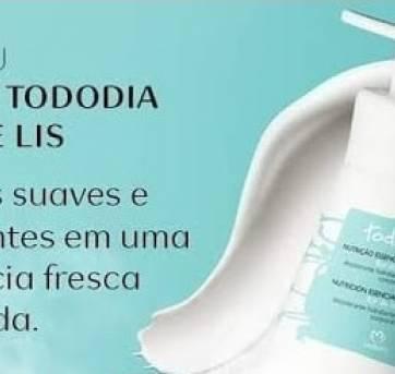 NOVO - Presente Natura TODODIA Flor De Lis -> Hidratante + Colônia (BRINDE)!! - Sem faixa etaria - Natura