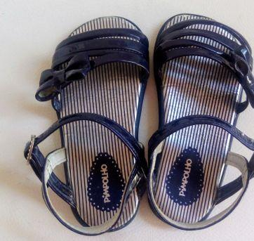 Sandália Pimpolho Azul Marinho tam 18!! - 18 - Pimpolho