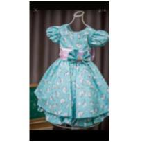 NOVO - Vestido de Festa Luxo Unicórnio tam 2 anos! - 2 anos - Ana Giovanna