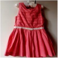 Vestido de Festa tam 12 a 18 meses BABY CLUB!! - 12 a 18 meses - Baby Club